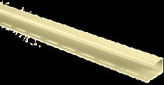 """Сайдинг Планка """"J - trim"""", 3000 мм, цвет Лимонный"""