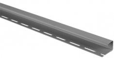 """Планка """"J - trim"""" Серебристая Т-15 - 3,00м"""