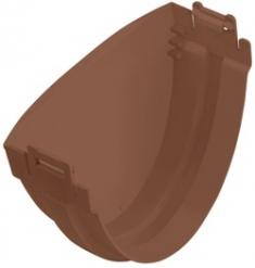 Заглушка для водосточной системы Стандарт (цвет коричневый)