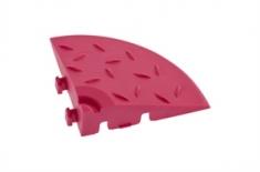Угловой элемент обрамления, цвет Розовый