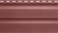 Акриловый сайдинг Kanada Плюс Премиум Гранатовый, 3,66м